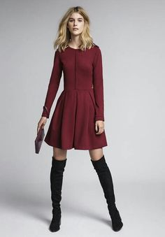 www.cuple.no Fall Winter, Dresses With Sleeves, Long Sleeve, How To Wear, Clothes, Fashion, Sewing, Outfits Fo, Moda