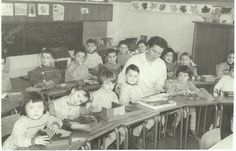 Photo de classe Ecole Jean Moulin de 1959 : Maternelle