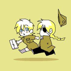 Pip and Seras