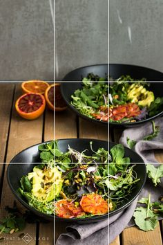 How to nail your food photography composition using the rule of thirds - plus a free photo planning kit!