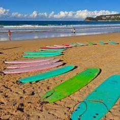 Manly Beach #Sydney #Australia   by heredownunder (instagram)