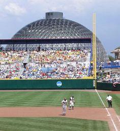 Rosenblatt Stadium; The Desert Dome looms behind