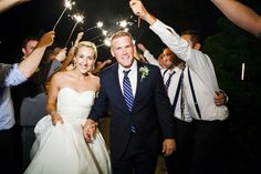 Ending the night with a little extra sparkle | Nancy Anderson Cordell Photography