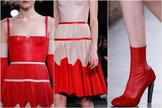 Alexander McQueen Elbise Modelleri 2016 Sonbahar Kış Koleksiyonu