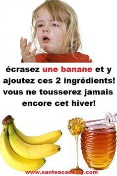 écrasez une banane et y ajoutez ces 2 ingrédients! Health Remedies, Home Remedies, Health Diet, Health Fitness, Nutrition, Weight Loss Tips, Detox, The Cure, Healing