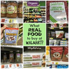 I was pleasantly surprised with all the real food at Walmart, including organic options, that I found during a recent visit. Save money with my favorites!