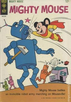 Adventures of Mighty Mouse #162