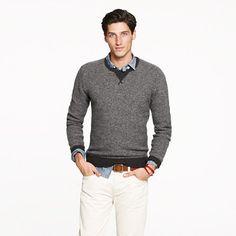 Lambswool sweatshirt