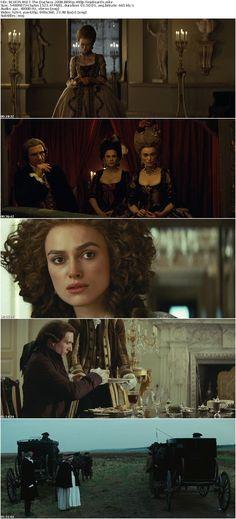 'The Duchess', 2008: Keira Knightley as Georgiana Cavendish, Duchess of Devonshire; Ralph Fiennes as William Cavendish, 5th Duke of Devonshire; Hayley Atwell as Lady Elizabeth 'Bess' Foster.