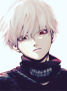 Kaneki, when looking his best and not in massacre mode.