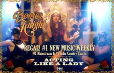 #DonicaKnight #ACTINGLIKEALADY @newmusicweekly #CANTBUYASOUTHERNGIRL EP @iTunes @Spotify  @YouTube