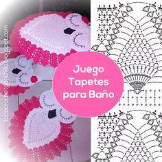 Juego de Tapetes para Baño / tutorial