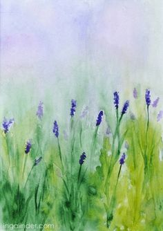 aquarelle - watercolour