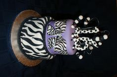 sweet 16 cakes   Sweet 16 Zebra Birthday Cakes 2011 - Chocolate Recipes   Cake ...