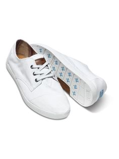 Kick off the New Year with fresh kicks. TOMS men s white Paseos. Men s  Spring 33a67e946