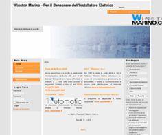 winstonmarino.com: Winston Marino - Per il Benessere dell'Installatore Elettrico - Home Winston Marino - L'installatore Elettrico - Sistemi Elettrici Evoluti
