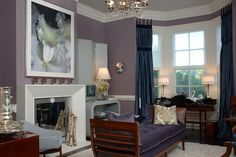 Cool-Purple-and-White-Living-Room-Theme.jpg 700×466 pixels