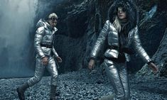 Moncler heads to an other worldly Iceland for its F/W 15 ads shot by Annie Leibovitz