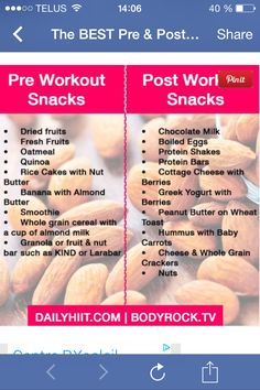 Before & after workout!