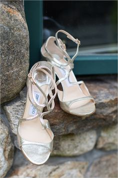 Jimmy Choo heels | bridal look | strappy heels | #weddingchicks