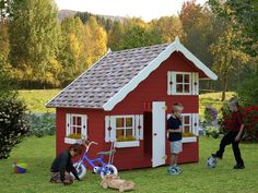 Sølund: Legehus i træ - Lille Marie