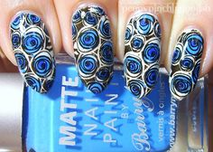 Penny Pinching Polish: MoYou London Rainbow Contest - Blue