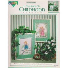 In The Spirit Of Childhood Cross Stitch Pattern Pamphlet  by Color Charts$14.98