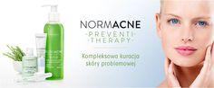 Dermokosmetyki Dermedic z serii Normacne to skuteczne rozwiązanie problemów skóry trądzikowej.