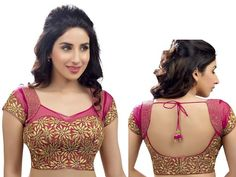 Saree Blouse Neck Designs, Fancy Blouse Designs, Bridal Blouse Designs, Blouse Designs Catalogue, Stylish Blouse Design, Designer Blouse Patterns, Lahenga, Sherwani, Churidar