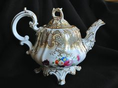Antique Bone China Tea-pot C1843