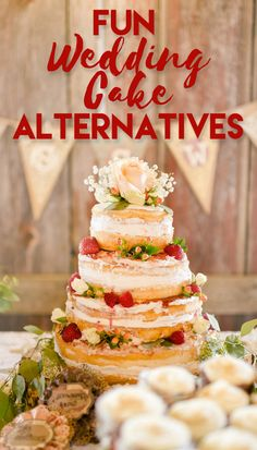 Beautiful and Fun Alternatives to Traditional Wedding Cake