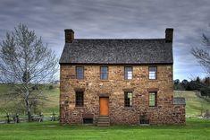 Old Civil War Stone House. Manassas National Battlefield ,Virginia