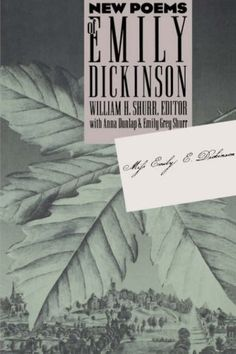 New Poems of Emily Dickinson von William H. Shurr http://www.amazon.de/dp/0807844160/ref=cm_sw_r_pi_dp_Qw7xub0A0SV3J