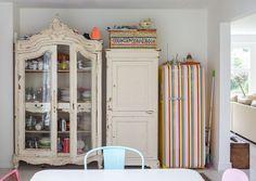 Una casa familiar muy extravagante #eclectico #smeg #vintage