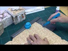 Boxen mit dem Envelope Punch Board - YouTube * ganz klares tuto für grössere boxen aus einem ganzen scrapbogen