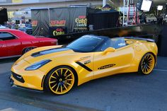 The Corvettes at the 2014 SEMA Show