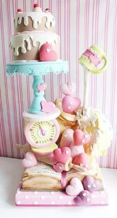 gravity cake la vie en rose