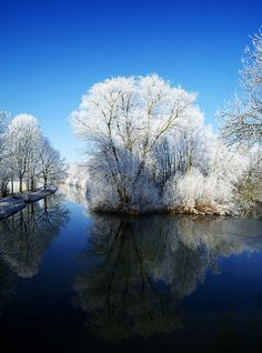 Winter - Kromme Rijn, Amelisweerd, Rhijnauwen, Utrecht