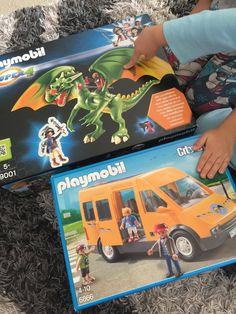 Κερδίστε τον Πράσινο Δράκο και το Σχολικό Λεωφορείο της PLAYMOBIL!