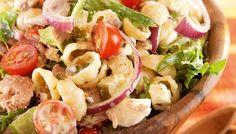 Rakuunainen tonnikala-pastasalaatti - K-ruoka