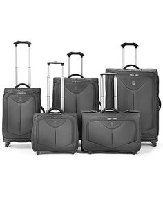 "Travelpro Luggage Collection | WalkAbout Spinners  (Macy's 1/2 price sale:  21"" Crew)"