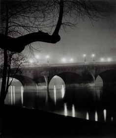 Brassai -  I chose this picture because I like how he used reflection