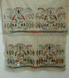 Neşe'nin gözdeleri Handmade Crafts, Diy Crafts, Gold Work, Christmas Decorations To Make, Needle And Thread, Textile Art, Hand Embroidery, Hand Sewing, Needlework