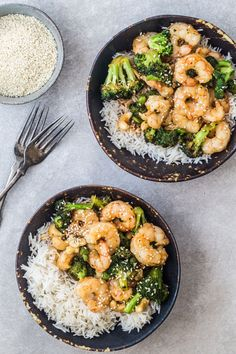 15 minutes Asian shrimp and broccoli. Truly sensational and easy. Sponsored