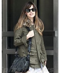 Rachel Bilson Army Stylish Jacket For Womens