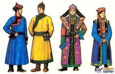 монгольский женский национальный костюм - Поиск в Google