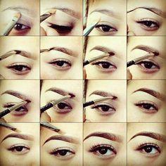 Makeup : DIY EYEBROW Makeup tips and ideas