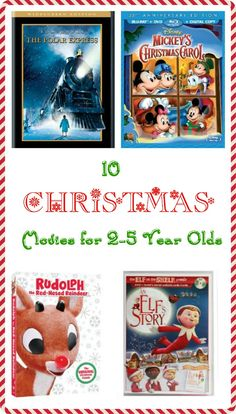 10 Best Christmas Movies for Toddlers and Preschoolers!