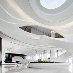 Showroom interior design - A' Design Award World Design Rankings 2018 – Showroom interior design Futuristic Interior, Futuristic Furniture, Futuristic Design, Futuristic Architecture, Interior Architecture, Corporate Interior Design, Showroom Interior Design, Corporate Interiors, Office Interiors