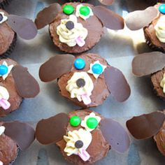 Pupcakes - perfect for a kid's birthday party #foodgawker